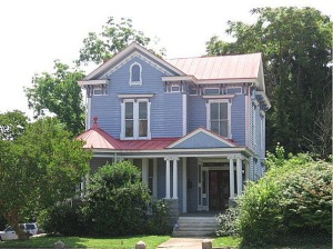 William & Julia's home at 855 Main Street, as it looks in present times.