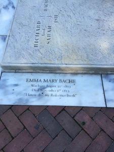 Emma Mary Bache (1803-1813)