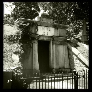 W.W. Pool's mausoleum