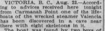 skeletons Los Angeles Herald 23 August 1906