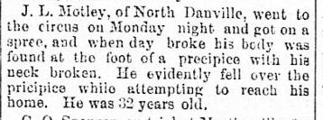 Motley circus Alexandria gazette., September 15, 1886