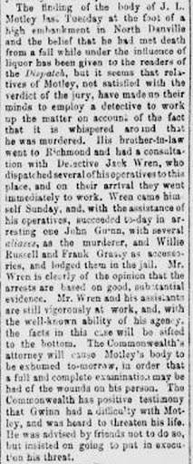Richmond Dispatch, 21 Sept. 1886