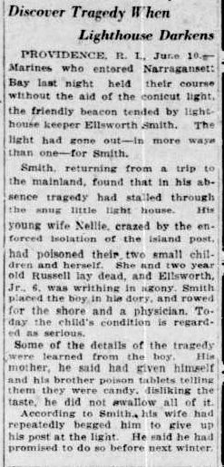 lighthouse-south-bend-news-times-june-11-1922 nellie smith